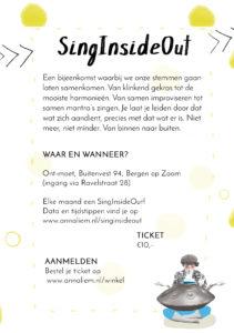 SingInsideOut Flyer Anna Liem