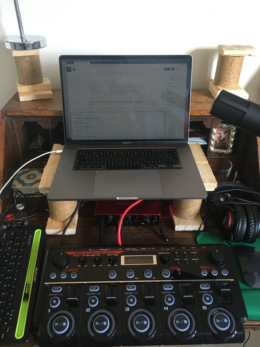 handpan audio-opnames maken