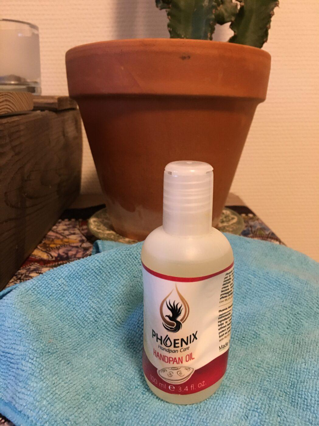 handpan phoenix oil