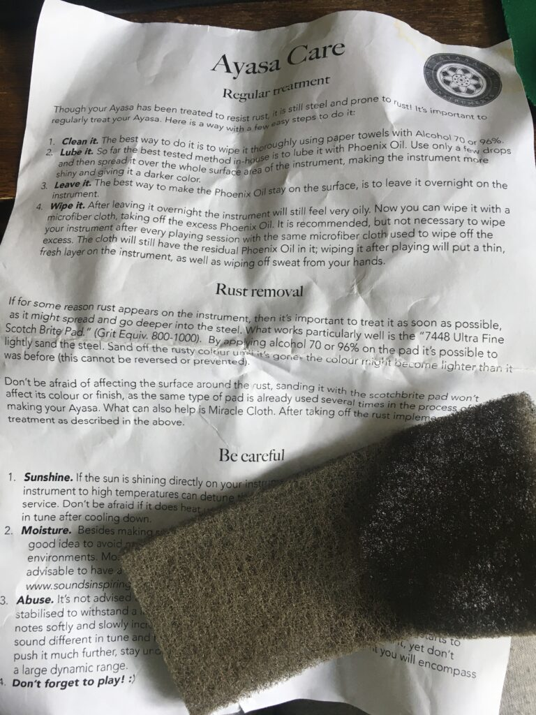 Ayasa regular treatment document